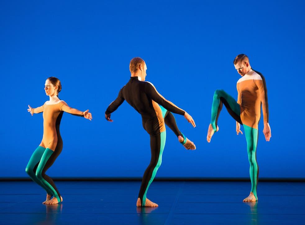 Michael Clark Company: Melissa Hetherington, Daniel Squire & Benjamin Warbis (from Albatross section)