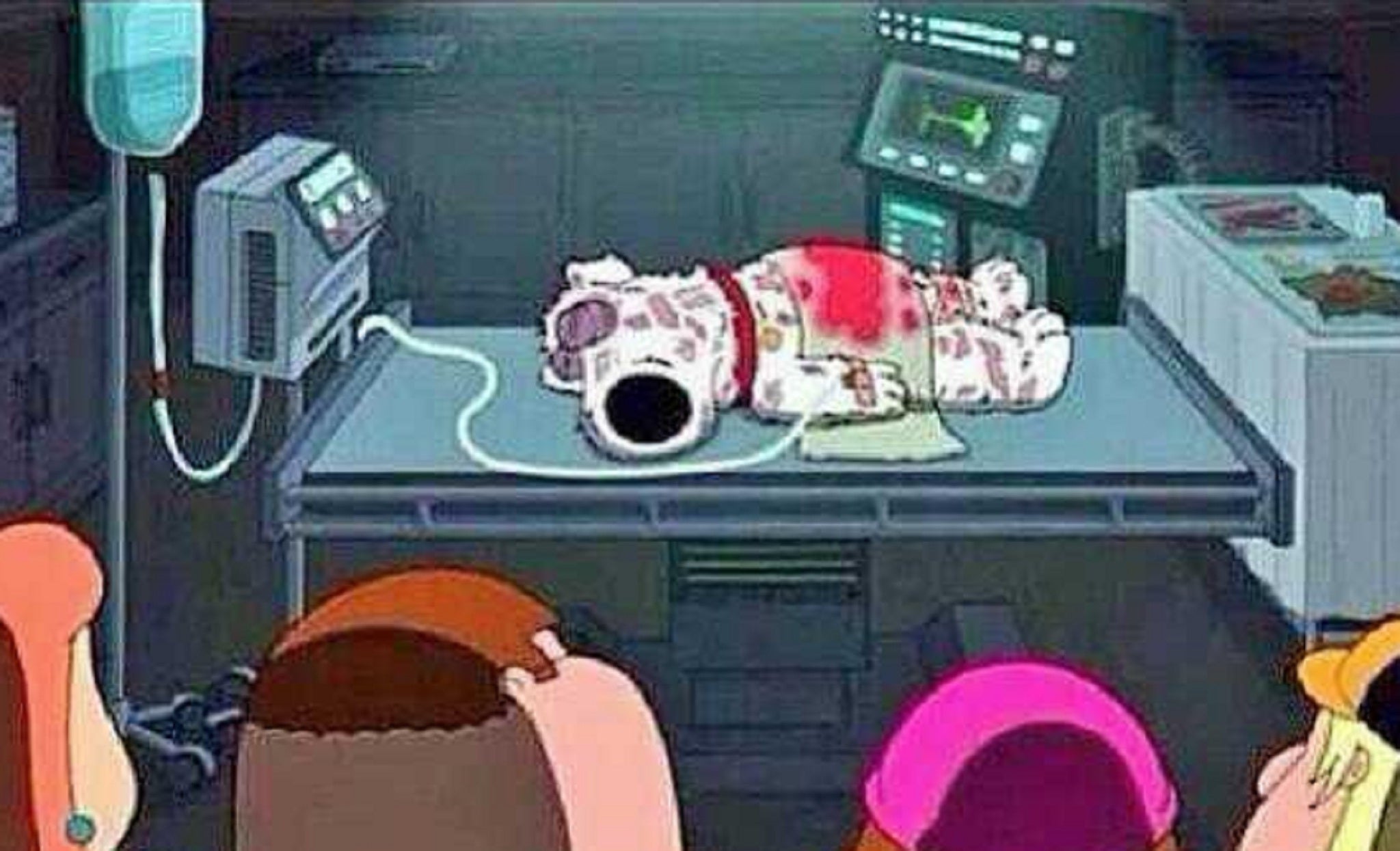 family guy death dating Much confusion has occurred over whether or not the family can understand  stewie's speech  in chitty chitty death bang, stewie talks to the cult leader,  who.