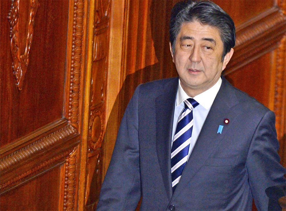 The Japanese Prime Minister, Shinzo Abe, denies that he is trying to gag the press