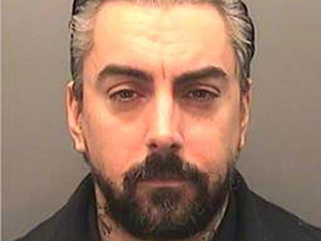 A mugshot of Ian Watkins released by South Wales Police following his guilty pleas