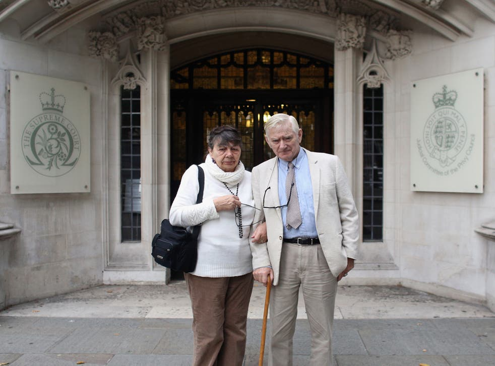 Christian guesthouse owners Peter and Hazelmary Bull