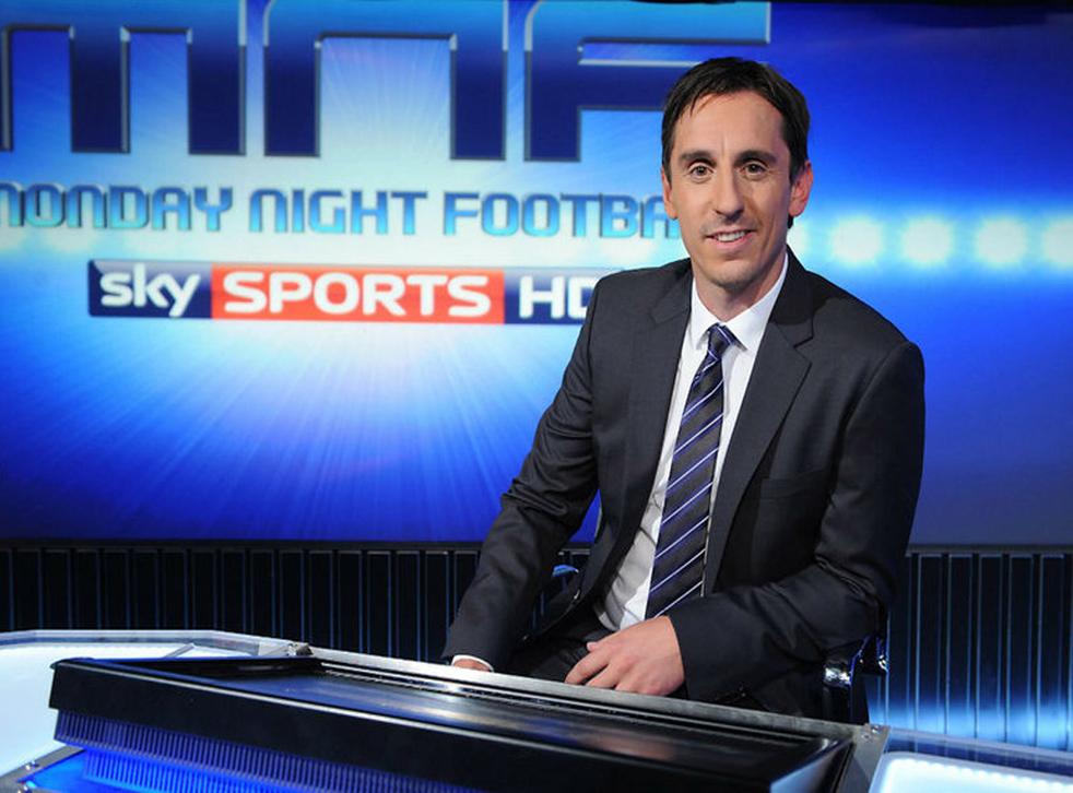 Lord Hall praised the punditry skills of Sky Sports' Gary Neville