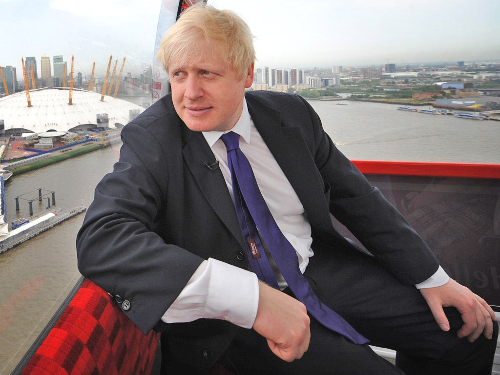 Embrace culture of greed, says Boris Johnson | The Independent