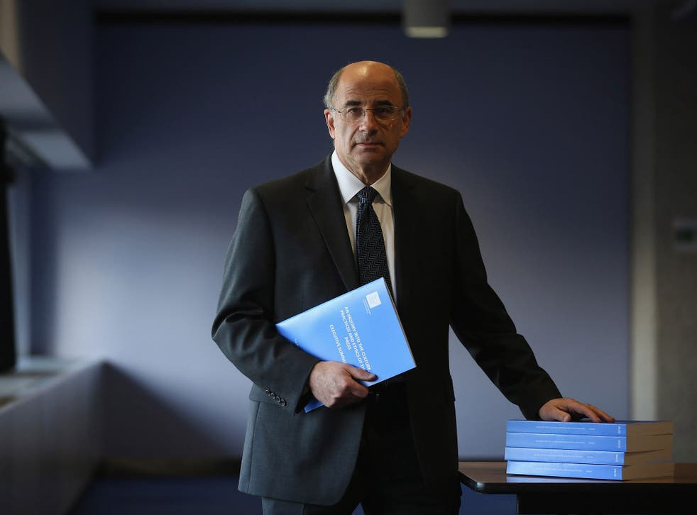 The media responded positively to Lord Justice Leveson's 2012 report