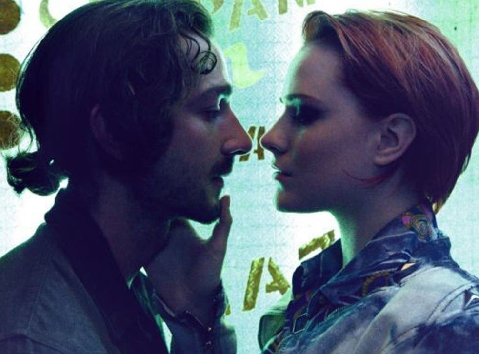 Shia LaBeouf and Evan Rachel Wood in 'The Necessary Death of Charlie Countryman'