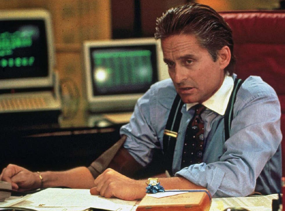 """""""The point is, ladies and gentleman, that greed, for lack of a better word, is good. Greed is right, greed works. Greed, in all of its forms; greed for life, for money, for love, knowledge has marked the upward surge of mankind."""" - Gordon Gekko, Wall Street."""