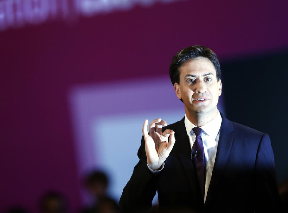 Ed Miliband will unveil Labour's new green paper in Manchester, with the focus on lowering energy bills