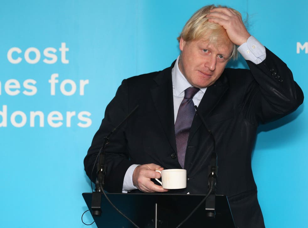 Boris Johnson said people with high IQs would succeed because 'the harder you shake the pack, the easier it will be for some cornflakes to get to the top'