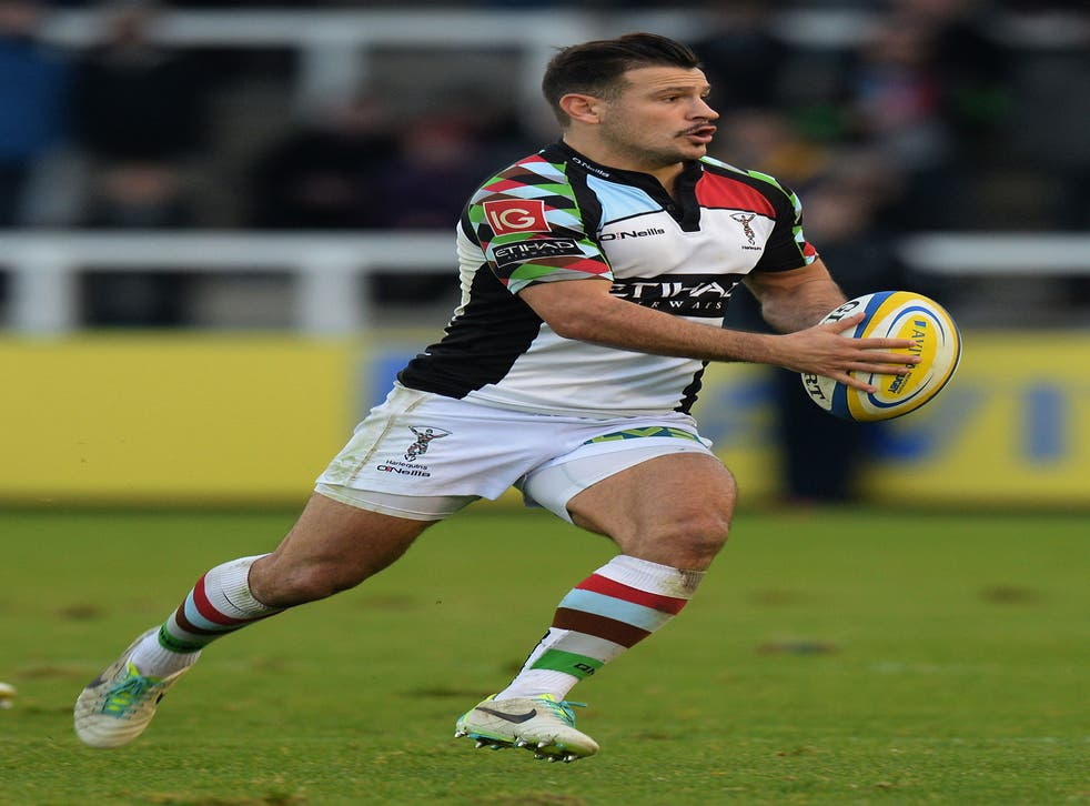 Danny Care scored the third of Harlequins' four tries