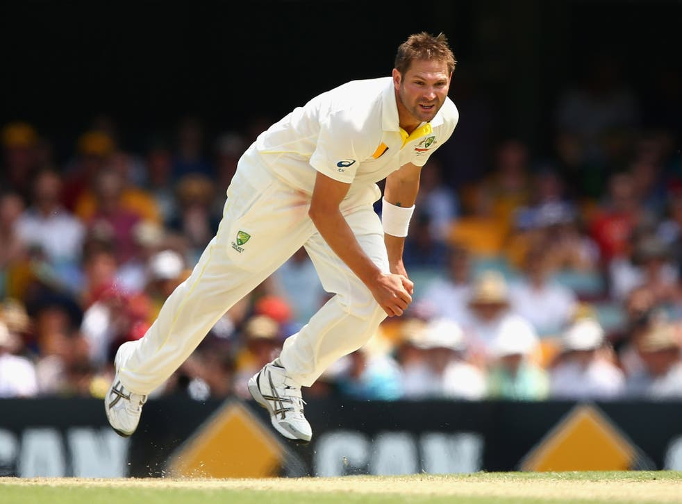 Ryan Harris has promised to come out at Adelaide with 'all guns blazing' as Australia try to take a two-nil lead in the 2013-14 Ashes