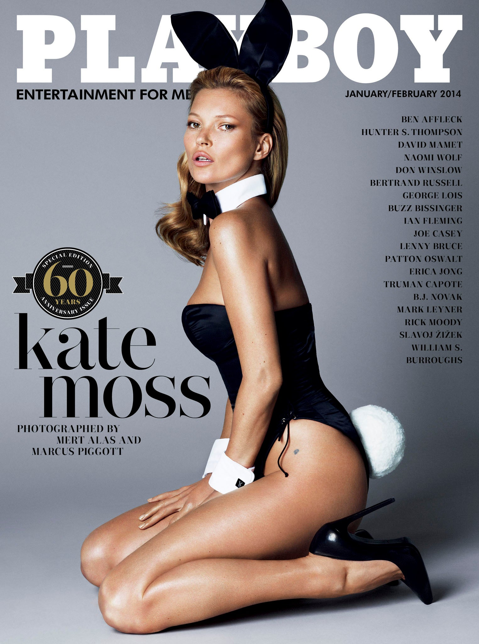Kate Moss For Playboy: See The Cover We've All Been Waiting For