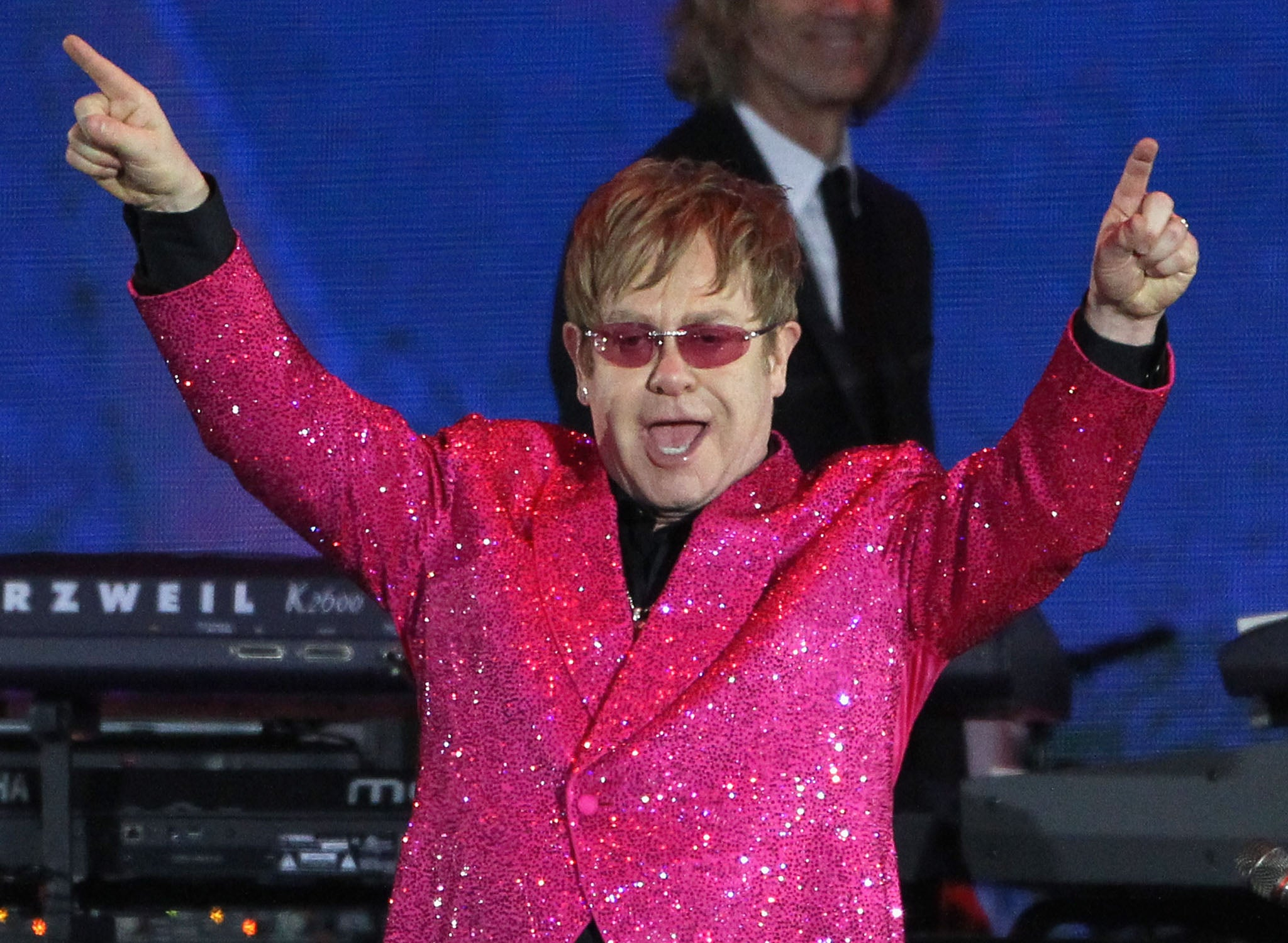 Elton John's Russian Tour At Risk Of Cancellation Over Antigay Laws  The  Independent