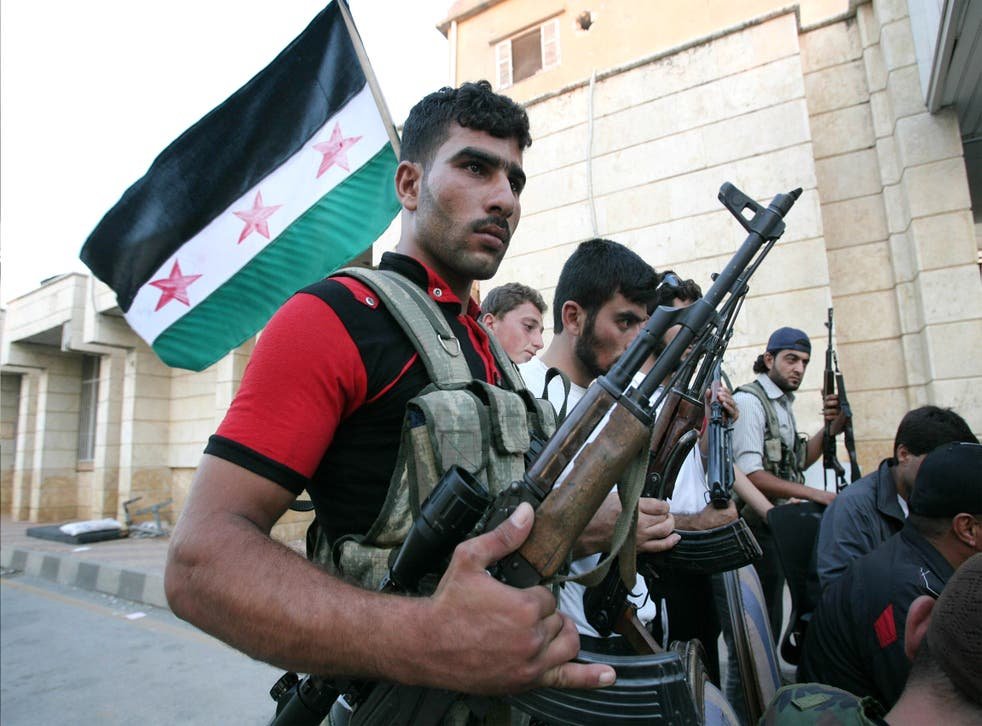 The Free Syrian Army (pictured) has produced an intelligence dossier charting the rise of the jihadists