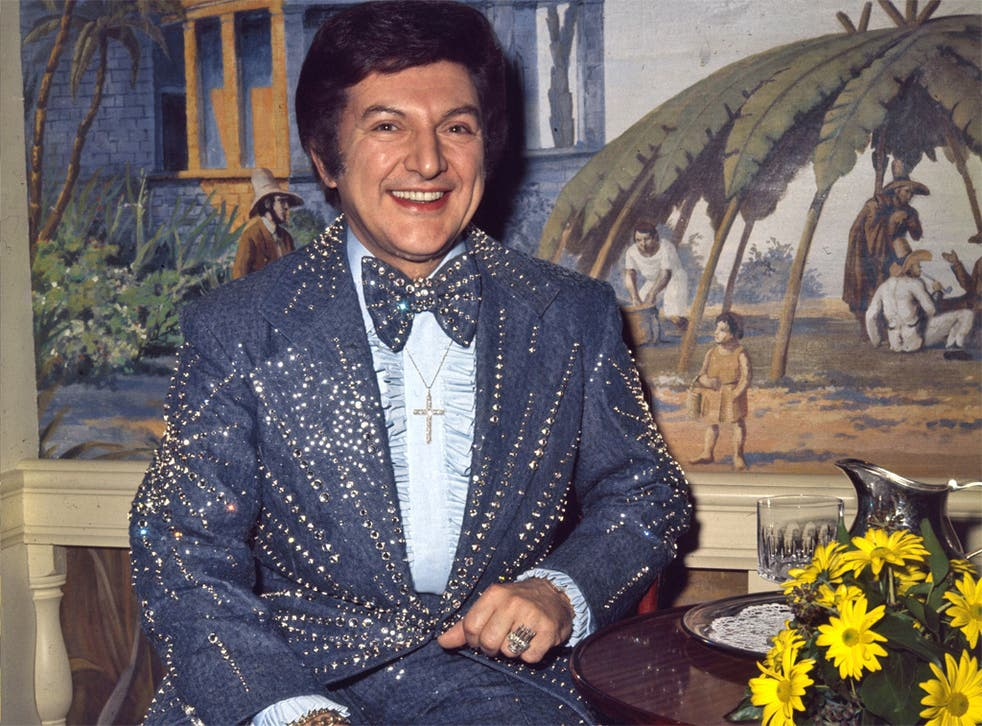 One of Lee Liberace's dazzling two-pieces