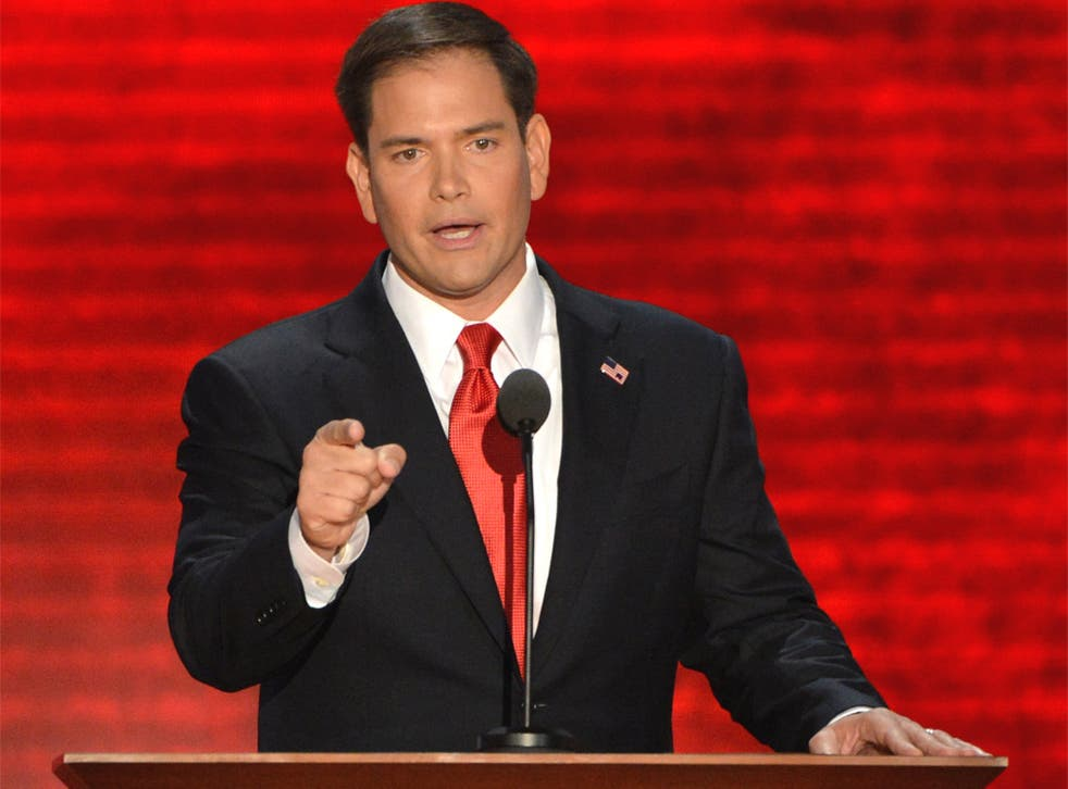 Marco Rubio's Chatham House speech received applause; but can he convince fellow Republicans?