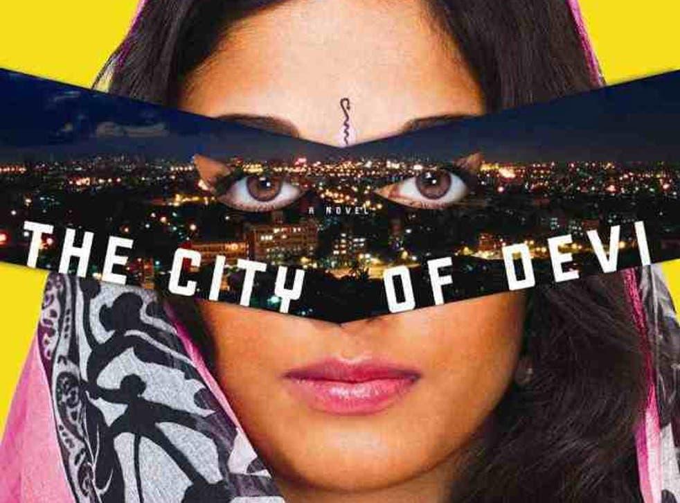 The cover of Manil Suri's 'The City of Devi'