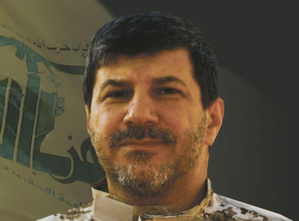 The late Hezbollah commander Hassan al-Laqqis