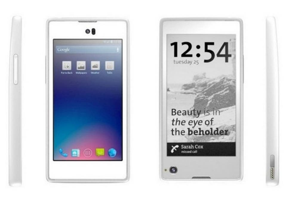 YotaPhone: Dual-screen 'always on' smartphone launches for €499