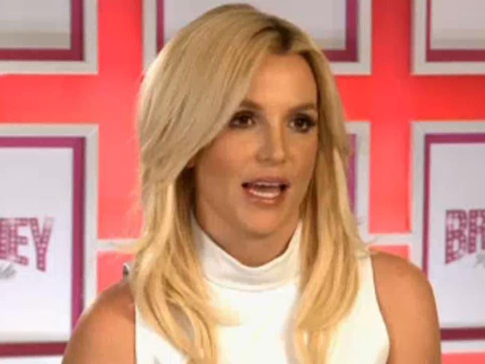 Britney strip video