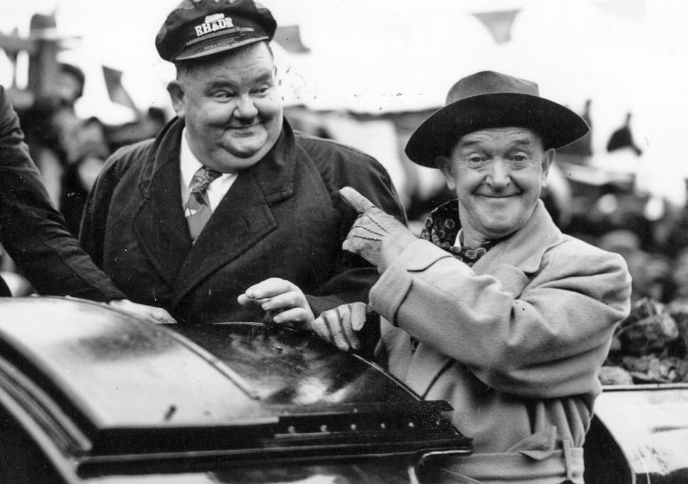 Image result for laurel and hardy in england 1940s