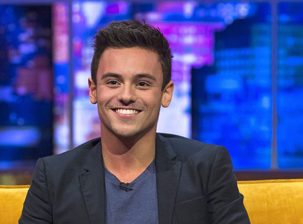 Tom Daley breaks his silence on his new romance in an interview on The Jonathan Ross Show