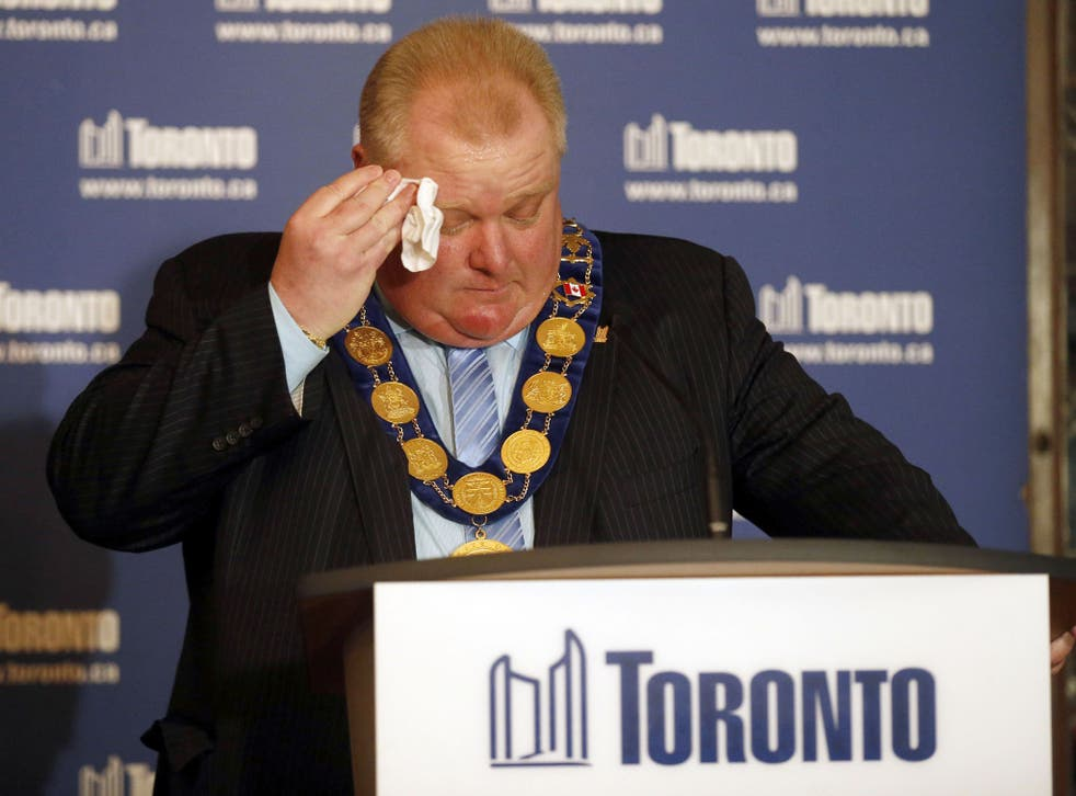 The heat is on: Mayor of Toronto Rob Ford is alleged to have offered suspected gang members thousands for a video which shows him smoking crack cocaine.