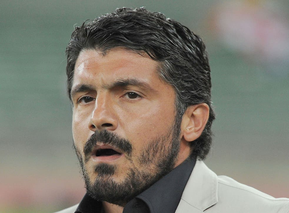 Former Italian midfielder Gennaro Gattuso has claimed he 'can't see a place for women in football'.
