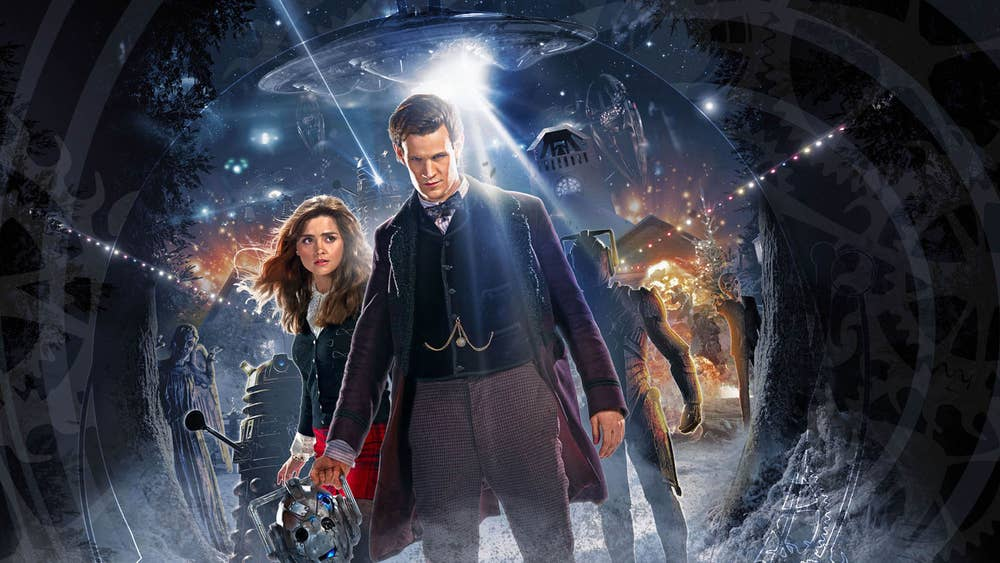 Doctor Who Christmas.Doctor Who Christmas Special 2013 New Pictures Released Of