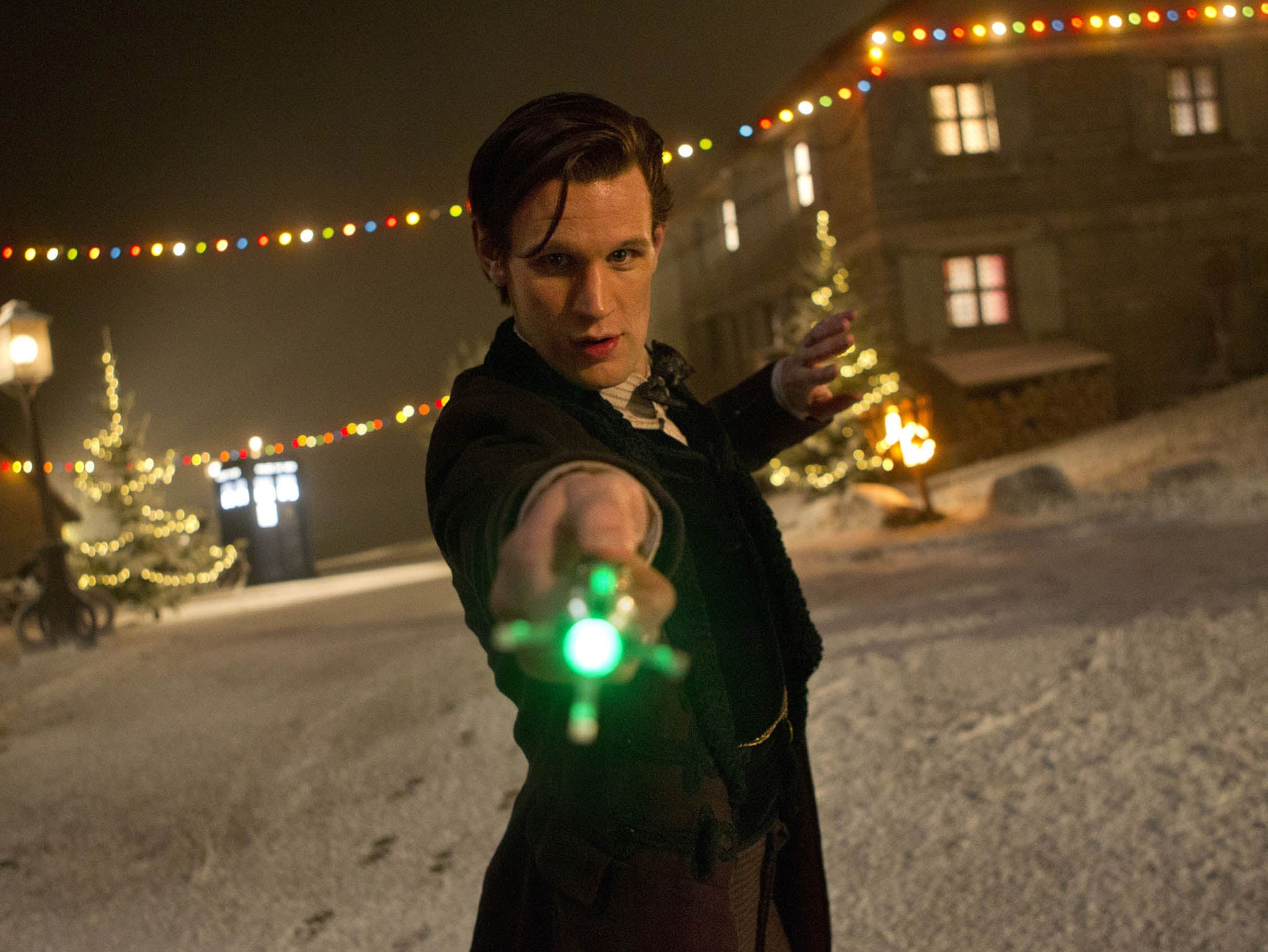 Doctor Who Christmas Special 2013.Doctor Who Christmas Special 2013 New Pictures Released Of