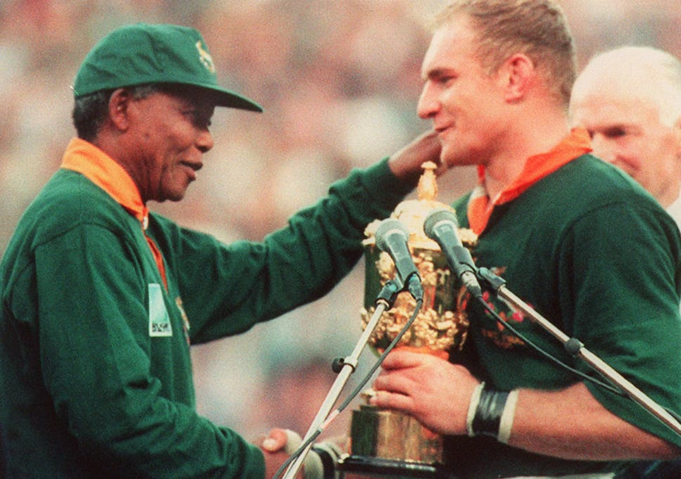 How Nelson Mandela Looked To Bring Unity Through Sport The Independent