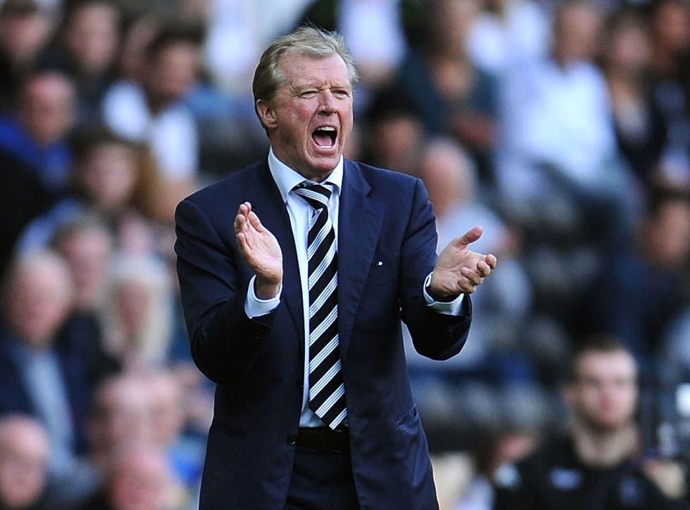 Steve McClaren has taken 19 points from 24 at Derby