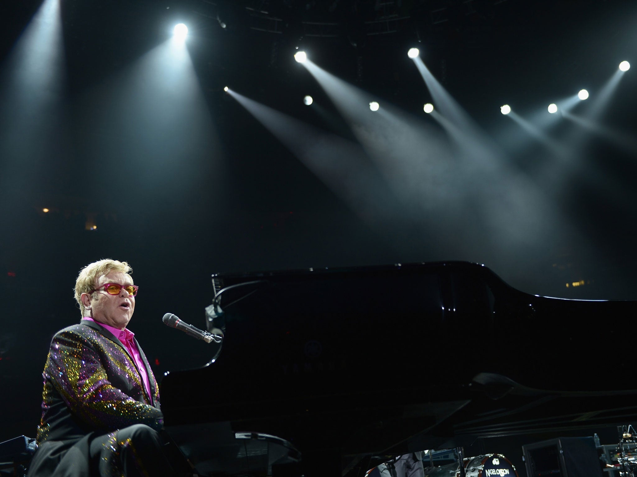 Sir Elton John Lashes Out At Russia's Antigay Laws In Moscow Show  The  Independent