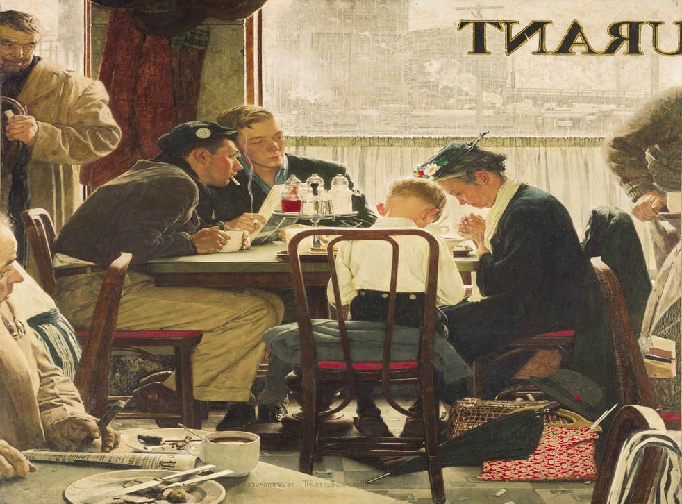 Norman Rockwell's masterpiece 'Saying Grace' sold for $46m in New York last week – a record price for a work by an American