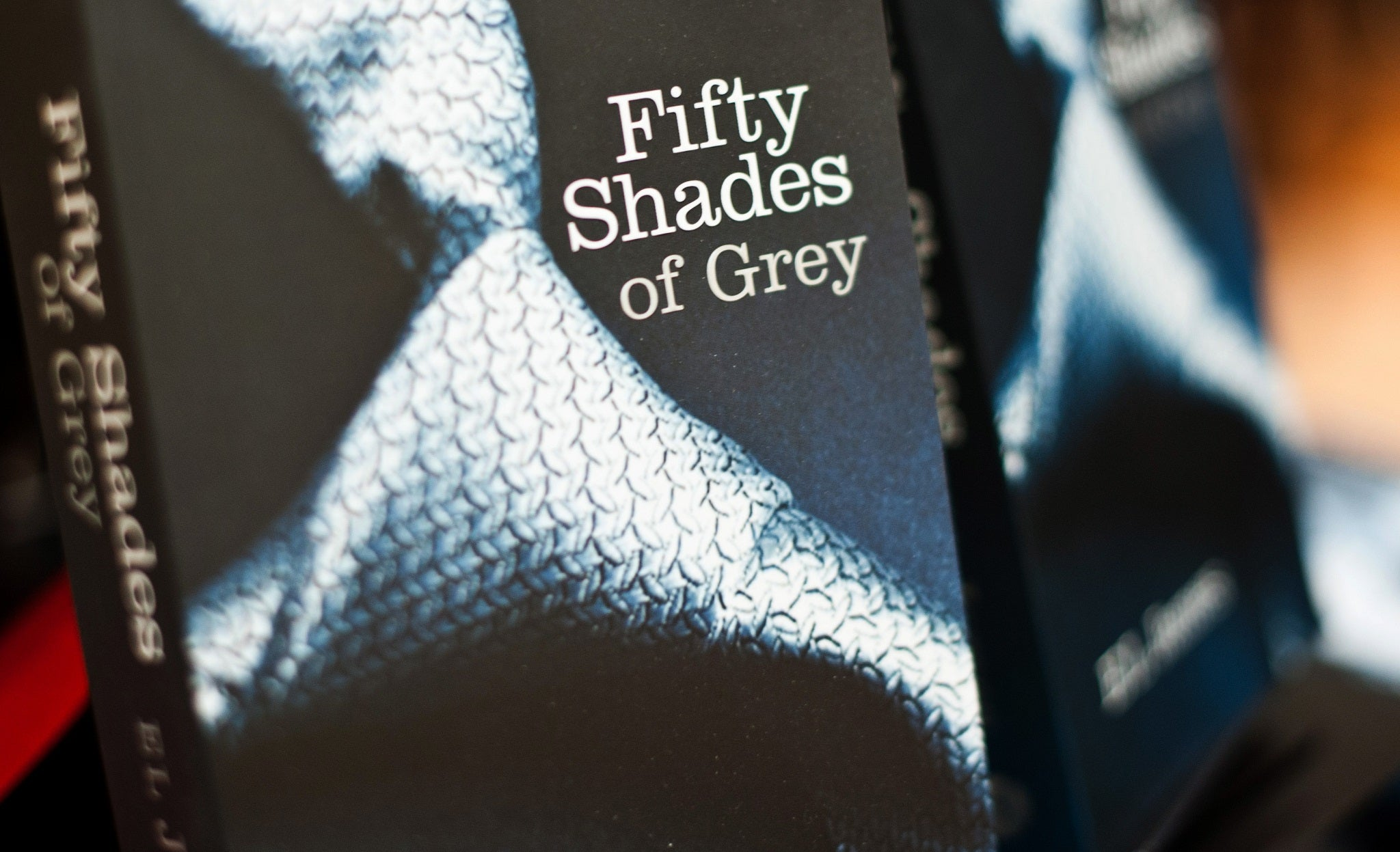 Fifty Shades is the book most likely to be left behind in hotel rooms