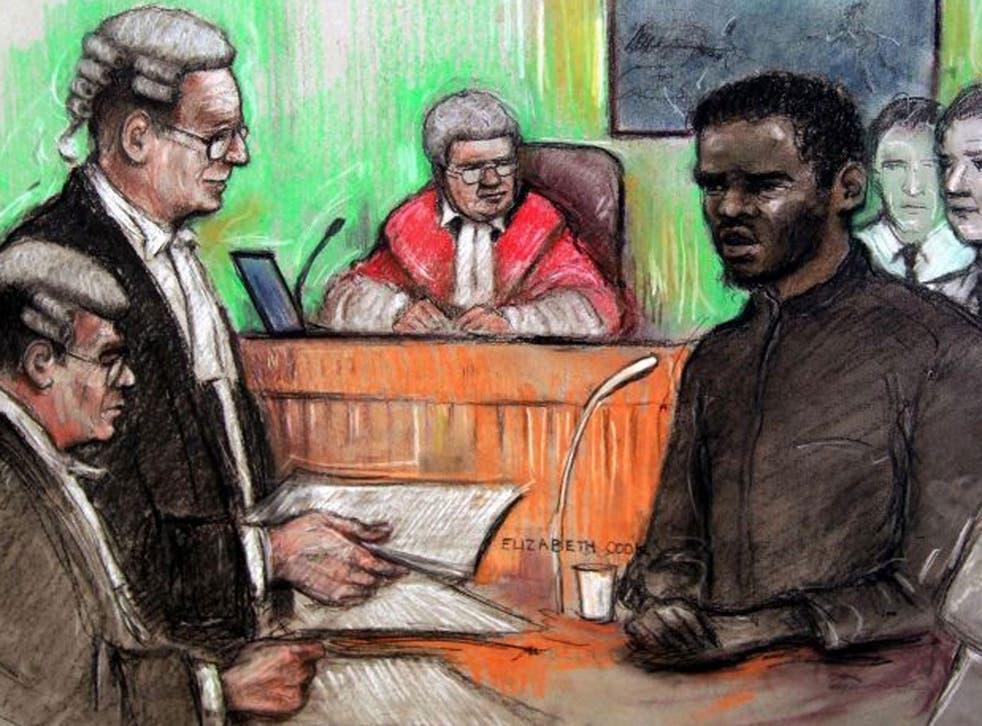 Michael Adebolajo in court