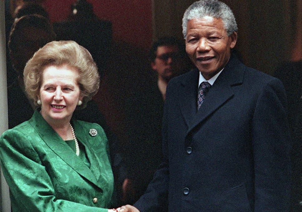 Margaret Thatcher Branded Anc Terrorist While Urging