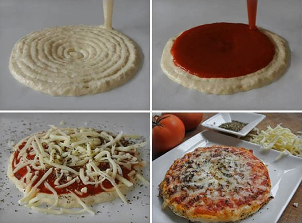 Pizza: the natural, delciious, ally of the print-your-food movement.