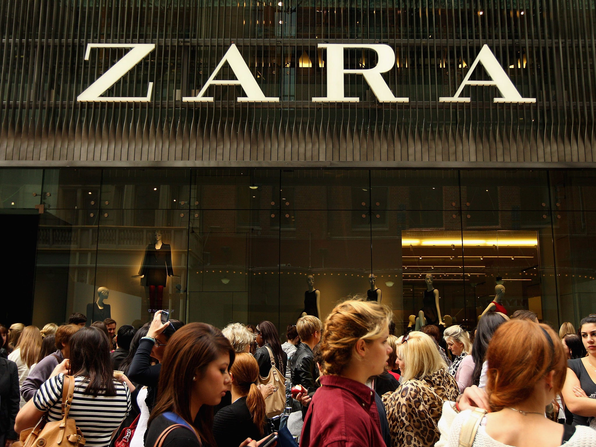 zara inditex Inditex: spain's fashion powerhouse you've probably never heard of  in arteixo there are 11 factories owned by inditex producing goods for the zara brand.