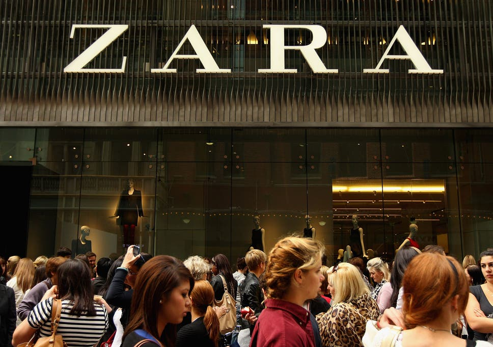 403b27f97d9cc8 High street giant Zara launches new tagging technology to restock sizes and  styles faster
