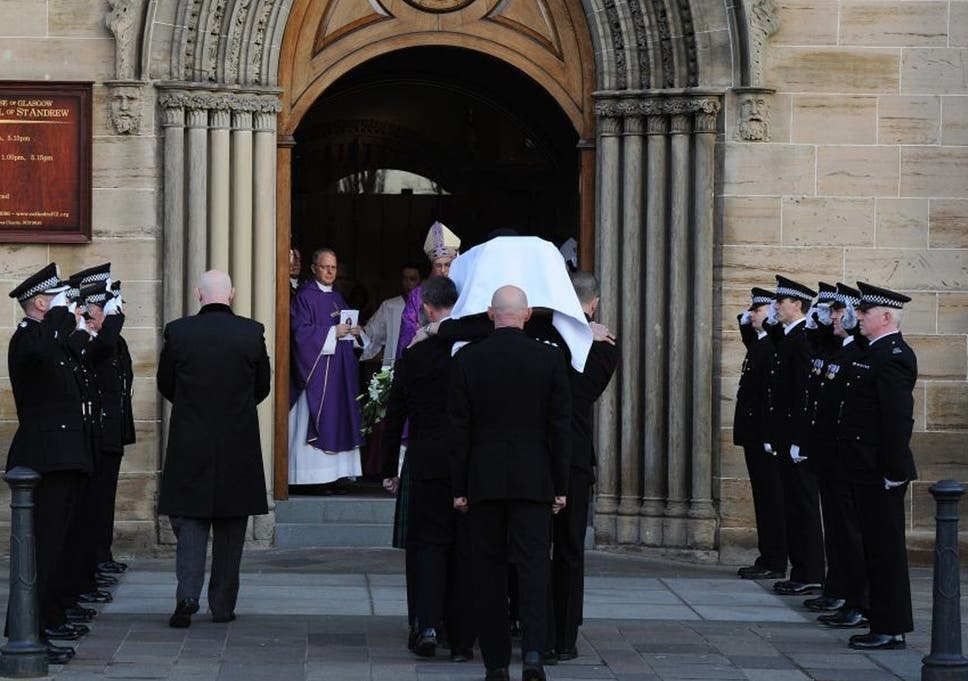 Glasgow helicopter crash: funeral held for Pc Kirsty Nelis just