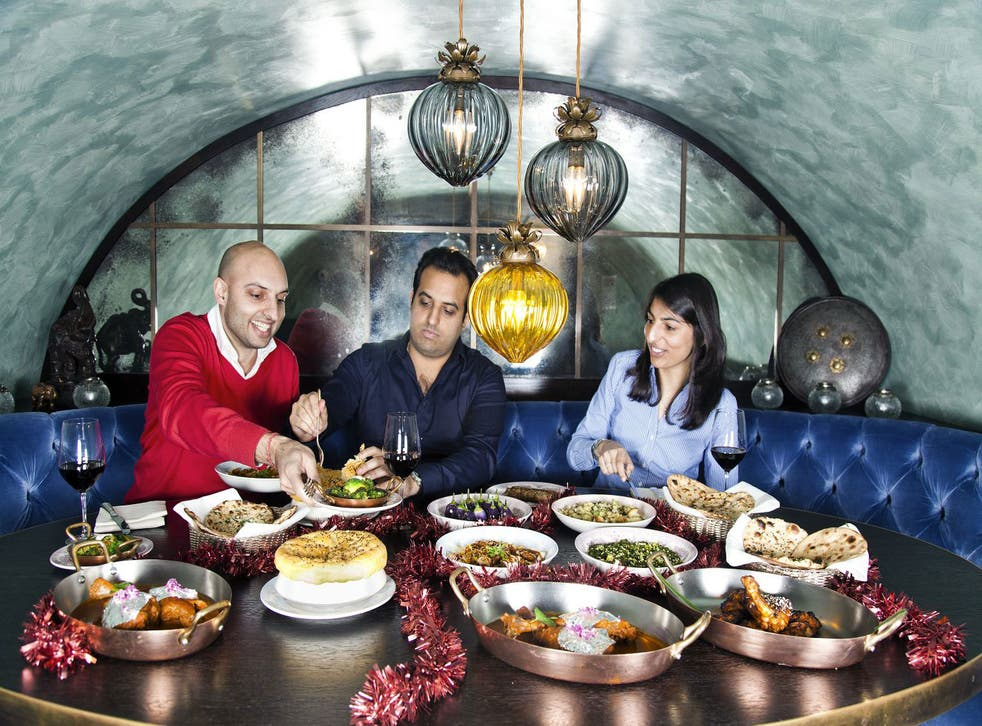 A British-Indian Christmas feast