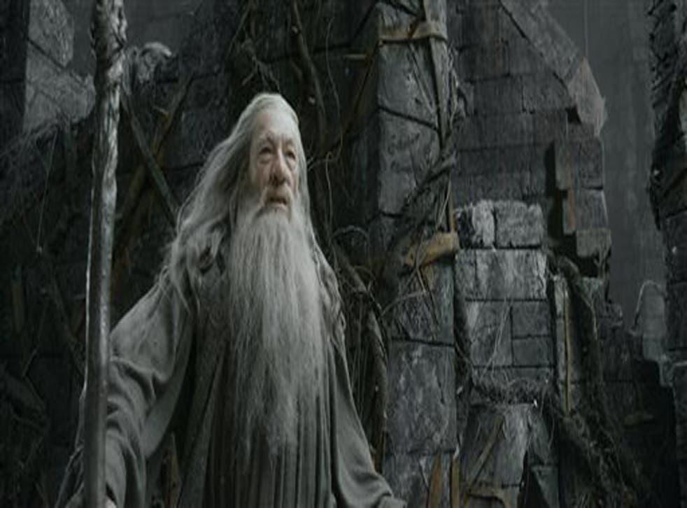 Ian McKellen stars in The Hobbit: The Desolation of Smaug