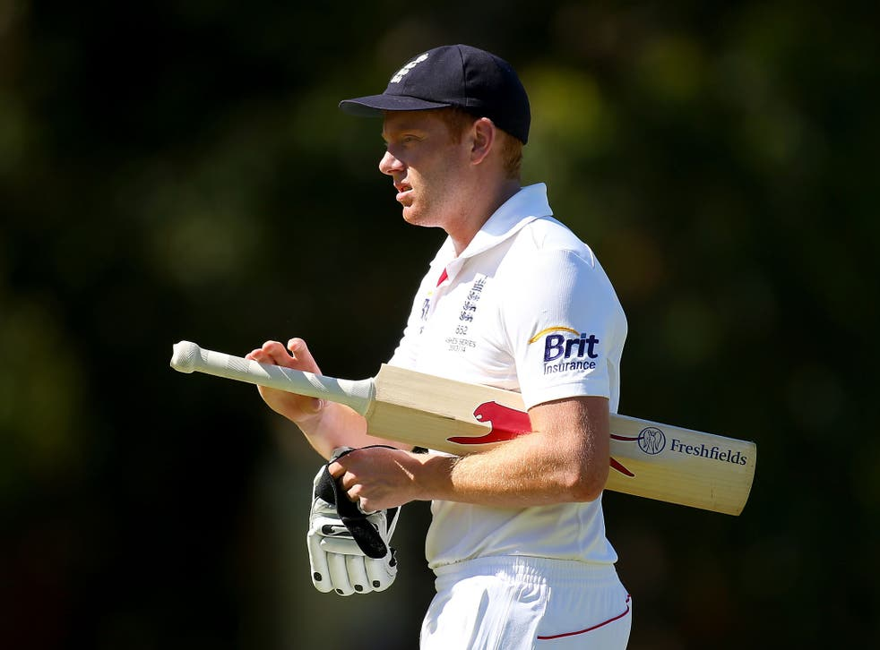 England batsman Jonny Bairstow provided selectors with a timely reminder after scoring 123 for England's Performance Programme against Western Australia 2nd XI