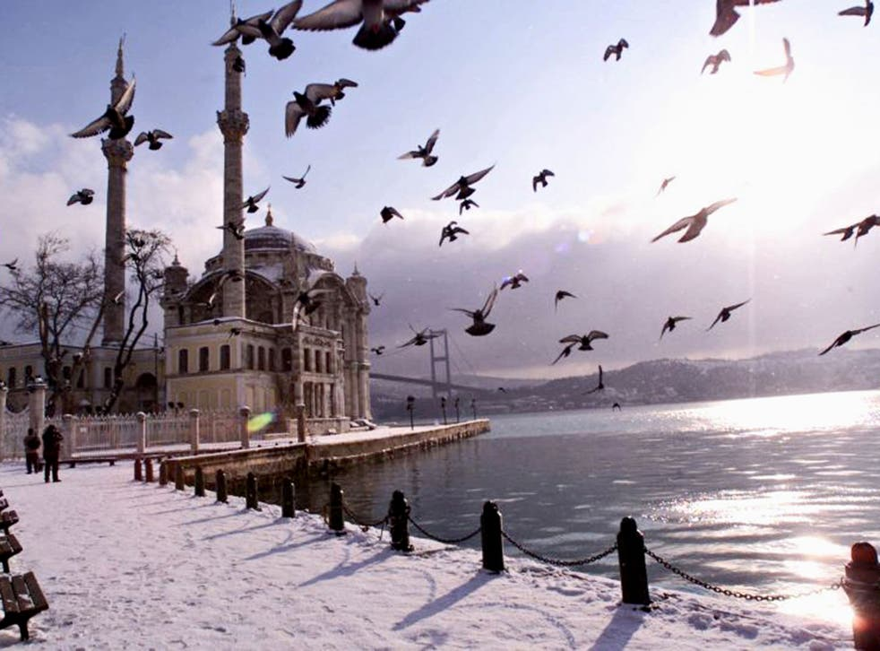 East meets west: the Bosphorus connects Istanbul's two sides