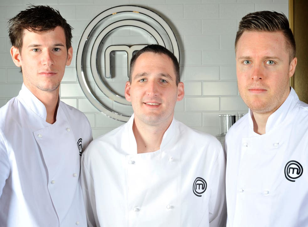 Adam Handling, Scott Davies and Steven Edwards will compete in tonight's final of Masterchef: The Professionals