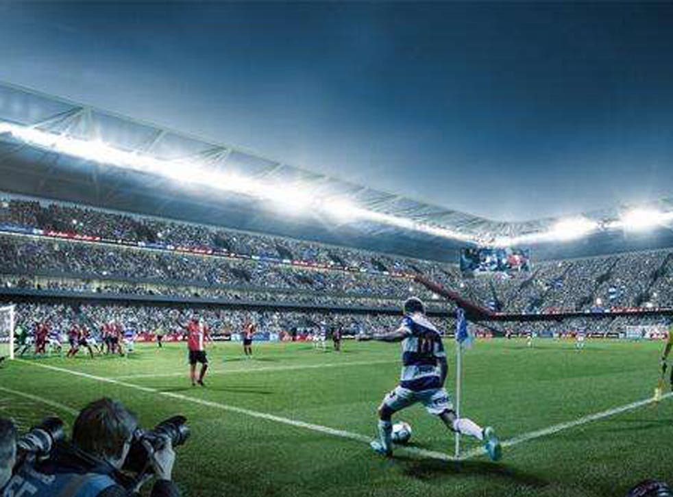 QPR unveil plans for a new 40,000-seat stadium in Old Oak, west London