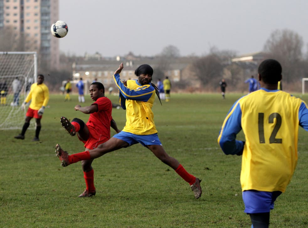 A ball, an open space.. but for grass-roots football the spaces have been growing emptier