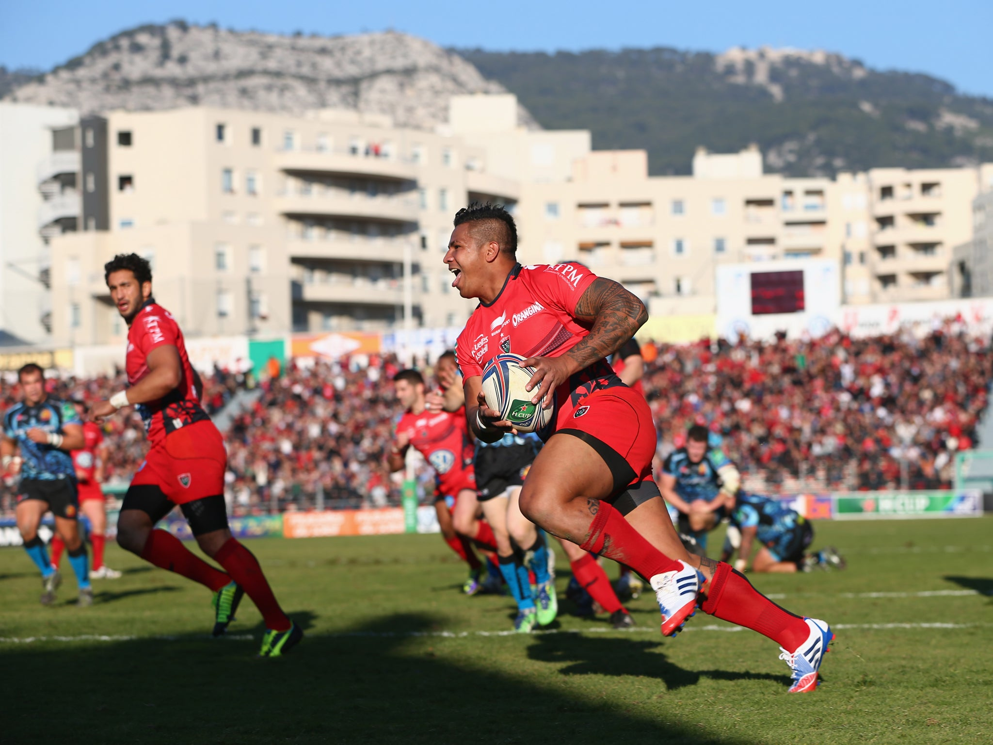 Toulon 32 Exeter Chiefs 20 match report: Toulon show lively Chiefs who's boss   The Independentindependent_brand_ident_LOGOUntitled