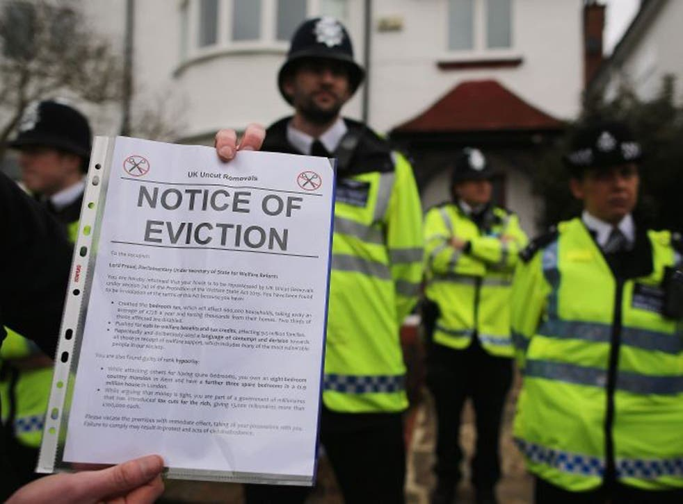 <p>Courts can process eviction cases and issue notices of eviction but bailiffs won't be able to enact them until after the current extension ends on 22 February</p>