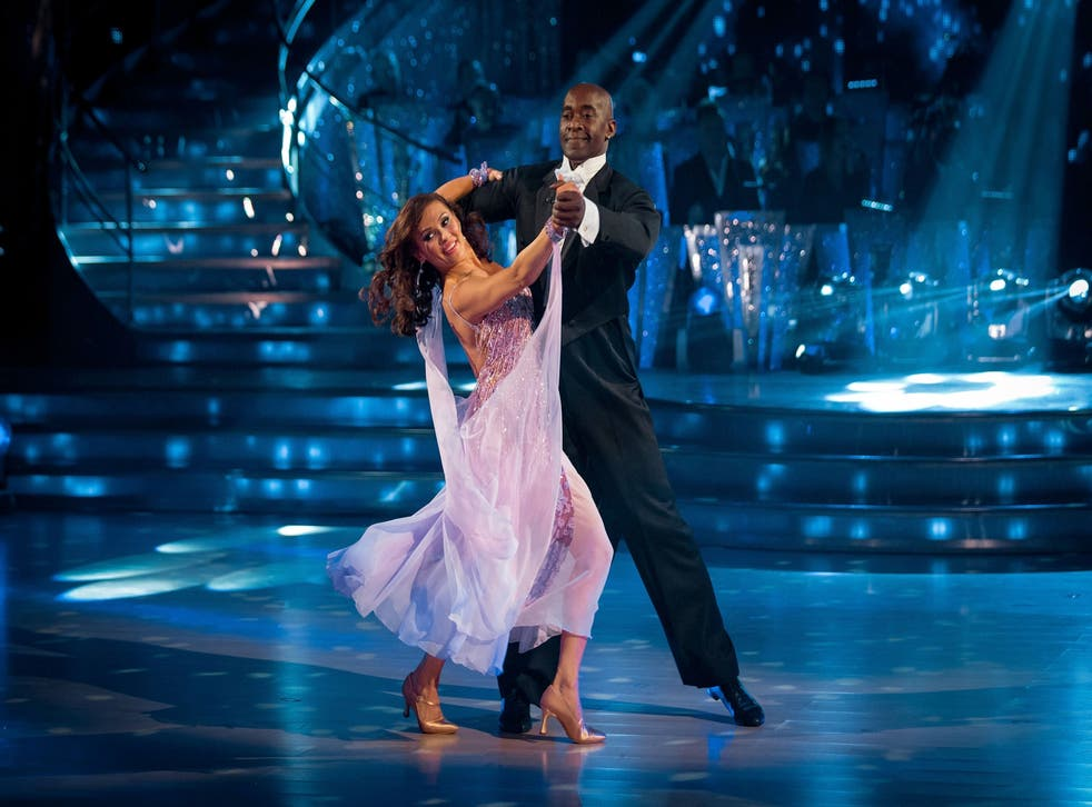 Actor Patrick Robinson and his dance partner Anya Garnis have left the competition